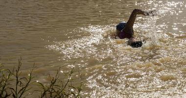 Swimming in Creek