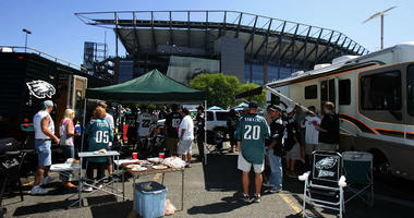 Eagles Fans Tailgating