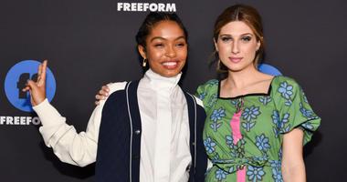 Yara Shahidi and Emily Arlook