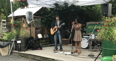 Performers at Greensgrow Farms' A Taste of Kensington benefit