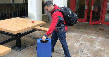 The regional CEO of the Eastern Pennsylvania chapter of the Red Cross, Guy Triano, began his trip south to Columbia, South Carolina, on Wednesday morning.