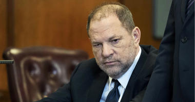 Harvey Weinstein appears in court in New York.