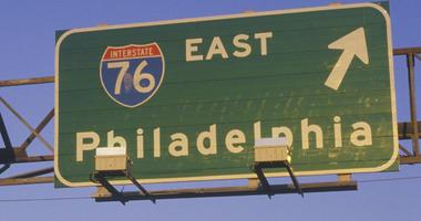I-76 in Philadelphia