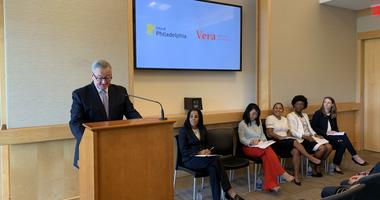 Philadelphia is joining an effort to provide lawyers for immigrants facing deportation. Mayor Jim Kenney Tuesday announced the city will give $100,000 to the Vera Institute to defend detainees in York, Pennsylvania.