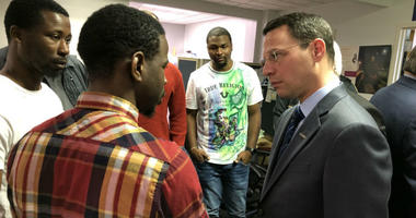 At Mothers in Charge, people recently released from prison are given the assistance and information needed to reintegrate into society. Attorney General Josh Shapiro decided to deliver his remarks here because he says the state needs more places like this