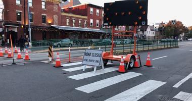Fishtown road closures will continue.