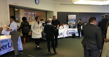 The Wolf administration hosted a resource fair for furloughed federal workers Tuesday at the local United Way's regional office in Center City.