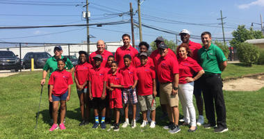 A group of about a dozen inner city kid were honored Thursday for completing the Health and Athletic Association's Summer Youth Golf Academy.