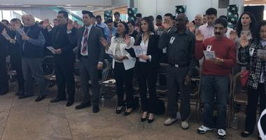 Trenton gained four dozen newly sworn in American citizens during Law Day.