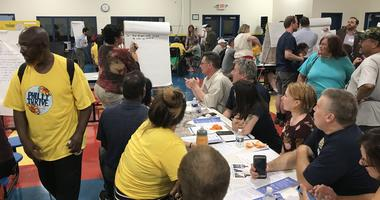 The Refinery Advisory Group held its second public meeting on Tuesday, looking for input from dozens of community members.
