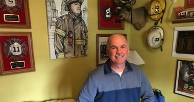 Scott Sladek is the face of a case that has opened the door to allow more firefighters to be compensated by the city if they get cancer, a hazard of the job.