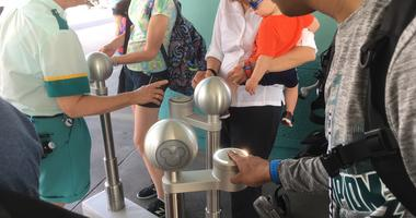 Through the Ticket Tag system, it links your fingerprint to an admission bracelet that gets you into the park. Disney said each fingerprint is transformed into a unique numerical value.