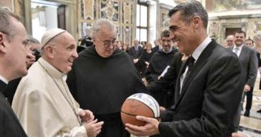 Jay Wright Pope Francis