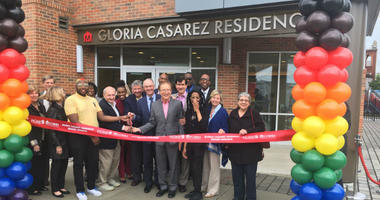 The Gloria Casarez Residence Apartments is the first permanent LGBTQ-friendly young adult residence in the state of Pennsylvania.