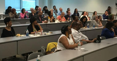 Community College of Philadelphia played host Tuesday to some low-income, high achieving students who've won scholarships that offer, in part, free rides to community colleges.