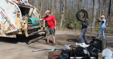 Darby Creek watershed cleanup