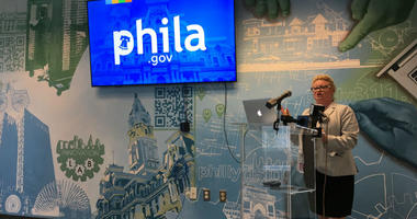 Chief Administrative Officer Christine Derenick-Lopez explains the City of Philadelphia government website redesign.