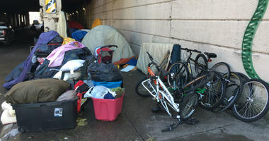 kensington drug encampments