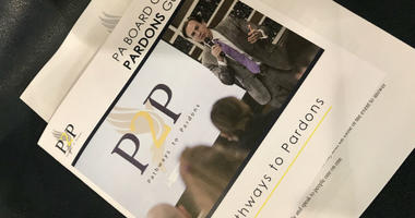 Pennsylvania Rep. Jason Dawkins co-sponsored the event, where people learned how to work toward a pardon for past convictions.