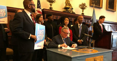 Philadelphia Mayor Jim Kenney signed a bill Tuesday that's intended to prevent landlords from evicting short-term tenants without a good cause. It gives current regulations the weight of law, but tenants say much more is needed.
