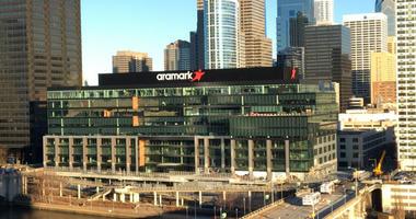 Aramark building.