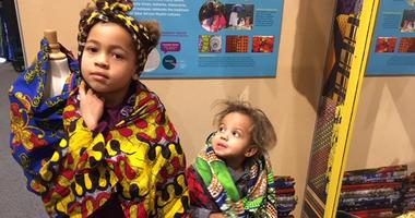 "Children dress up at the ""America To Zanzibar"" exhibit at the Please Touch Museum."