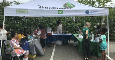 To combat the extreme heat, the city held a Beat the Heat program Wednesday to raise awareness about available resources for residents of Hunting Park.