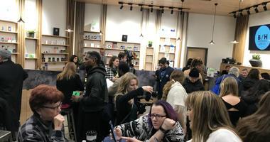 An open house was held Thursday at Center City Philadelphia's first medical marijuana dispensary set to open next week.