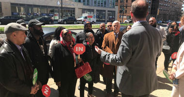 Members of the Players Coalition joined a cohort of Pennsylvania lawmakers on a tour designed to highlight the impact of enhanced mandatory sentencing, and their goal is to stop such bills before they become law.