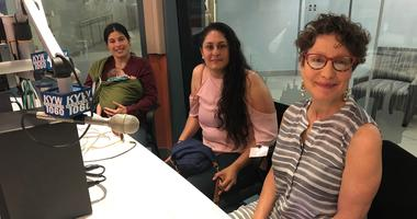 Amanda And Zora Furt, Charito Morales and Liz Hersh