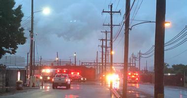 Fire at Philadelphia Energy Solutions.