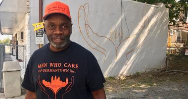 "Keith Pate of the nonprofit Men Who Care of Germantown: ""We're trying to just revive this community."""