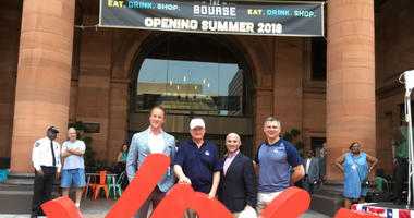 Renovations to The Bourse building will soon be made to the public as a world-class food hall called Bourse Marketplace.