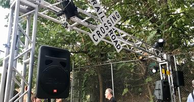 For three weekends, the Philadelphia's Rail Park is turning into an immersive, multi-sensory, pop-up art experience looking at the past, present and future of the historic Reading Railroad corridor.
