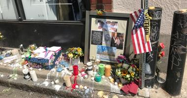 Community members remember Sean Schellenger, a prominent Philadelphia real estate developer who was stabbed to death last week near Rittenhouse Squar
