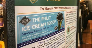 Philly Ice Cream Scoop