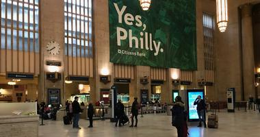 Thousands are leaving Philadelphia by train, bus, plane and car to get back to work and school on Monday.