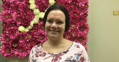 Kristina Kociuba, Breast cancer survivor