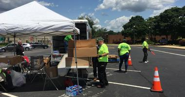 Free disaster cleanup kits