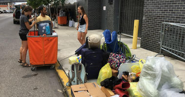 A little more than 5,000 freshmen are moving into Temple University — in addition to approximately 2,500 transfer students — with all their worldly possessions this week.