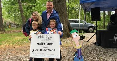 Pixie Dust Wishes granted a Disney World getaway to a Montgomery County second grader and her family.