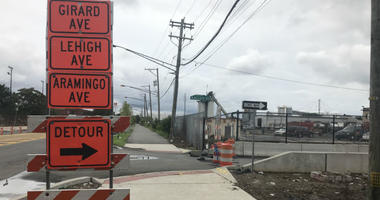 A busy ramp from Southbound I-95 to Girard Avenue will be shut down at 8 p.m. Tuesday night and will remain so for two years while PennDOT crews reconstruct a mile long stretch of the southbound viaduct between Port Richmond to Fishtown.