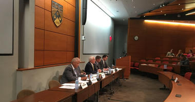 A public hearing was held Wednesday afternoon in University City to address the potential impact a refinery fire last month may have had on the South Philadelphia community where it happened. Some of the health implications might not be fully known.