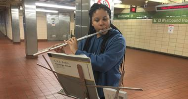 Bach in the Subways