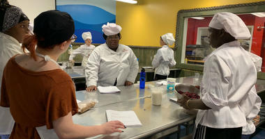Kids that have been diagnosed with or are at risk for chronic kidney disease participated in a special week-long summer cooking camp.