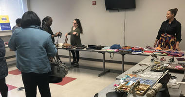 Jewish Family and Children's Service of Greater Philadelphia hosts a pop-up shop in support of foster and adoptive mothers.