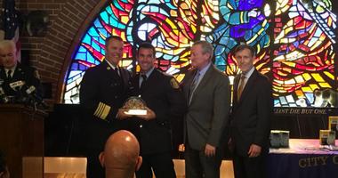 Philadelphia 2018 Firefighter of the Year Jason Marcinkiewicz