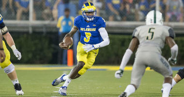 Redshirt senior wide receiver Joe Walker has six catches for 82 yards and a touchdown so far this season for Delaware.
