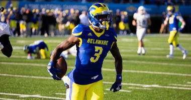 Delaware redshirt senior wide receiver Joe Walker