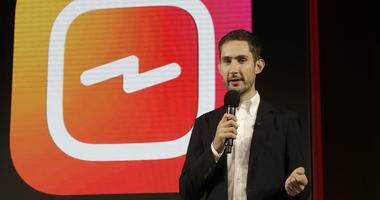 In this Tuesday, June 19, 2018, file photo, Kevin Systrom, CEO and co-founder of Instagram, prepares for an announcement about IGTV in San Francisco.